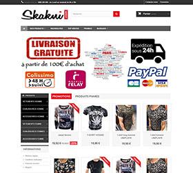 Site vente de vêtements