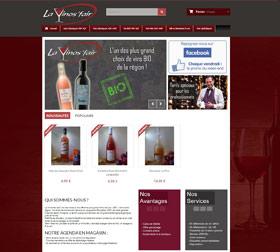 Création site Ecommerce cave à vins Aix Noulette