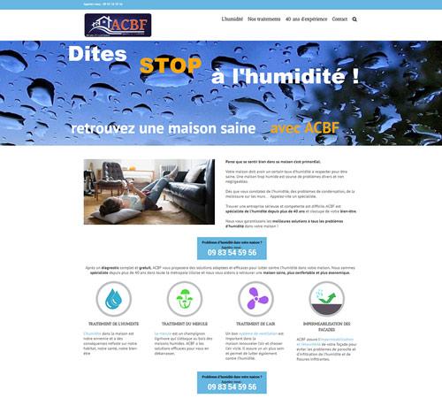 Création du site internet à Lille