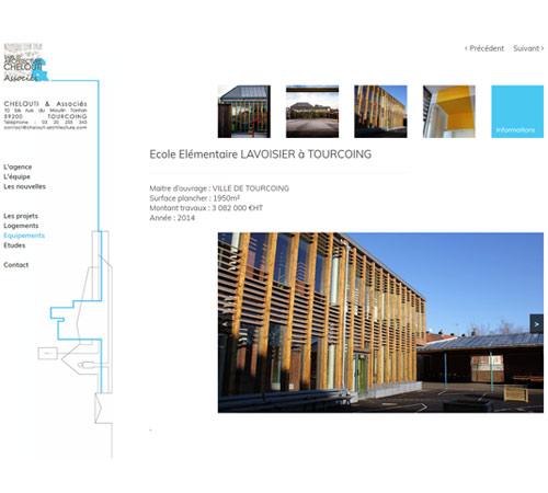 Création de site internet pour architecte à Tourcoing