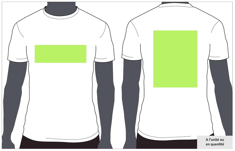 Tee shirt personnalisé à Arras