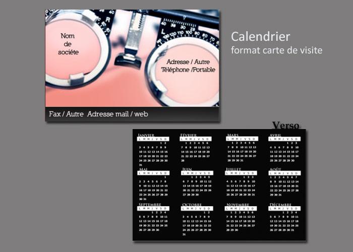 Calendrier 2015 Format Carte De Visite