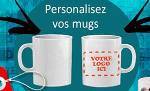 impression de mugs personnalisés à Arras
