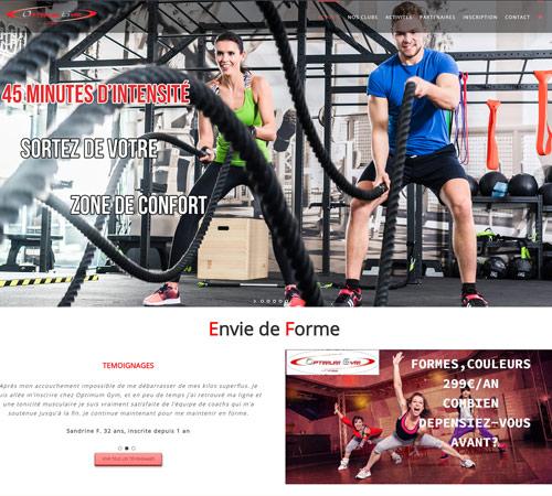 Création de site internet pour club sportif Hauts de France