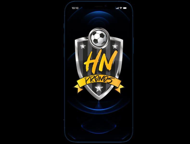 Création de site web et logo Pronostics sportifs