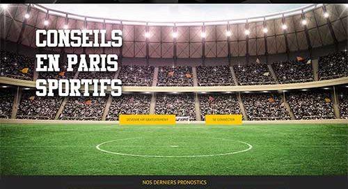 Création de site web de pronostics sportifs