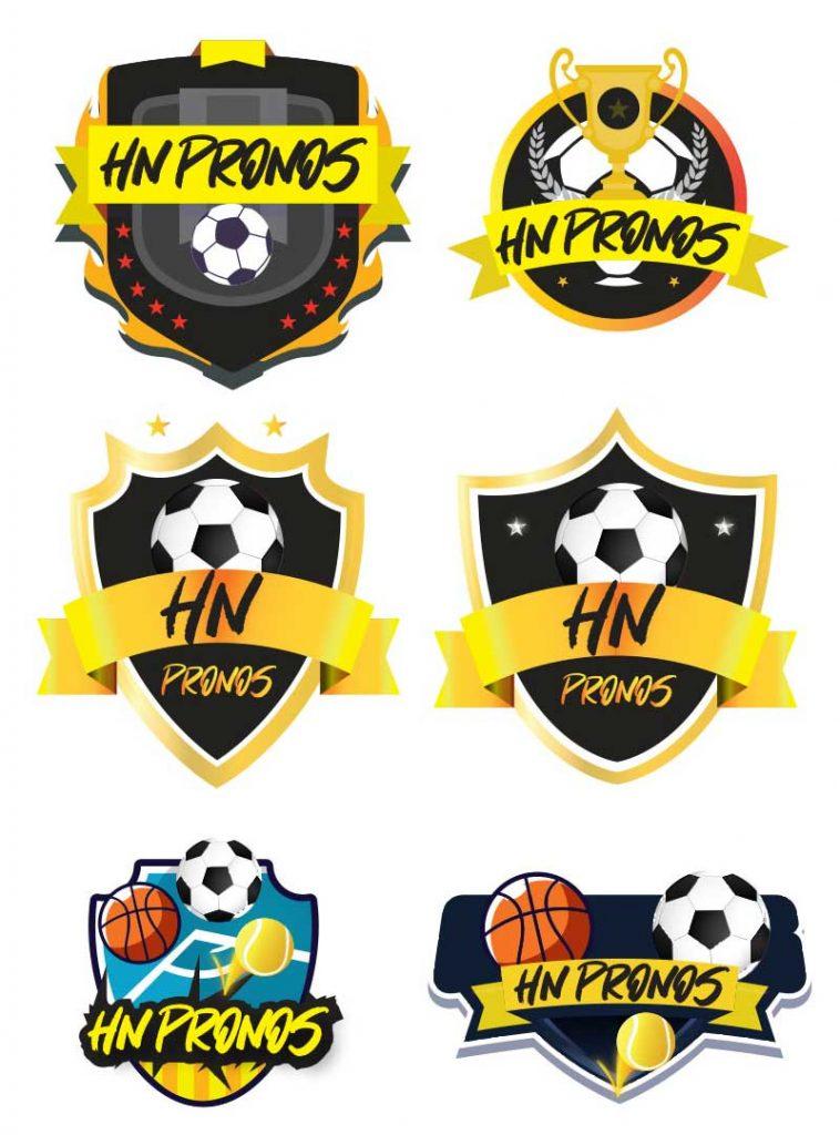 Nos propositions de logo HN Pronos Pronostics sportifs