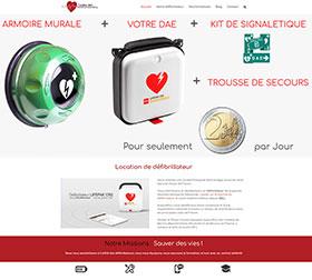 Création site web Cardio Défi Annequin